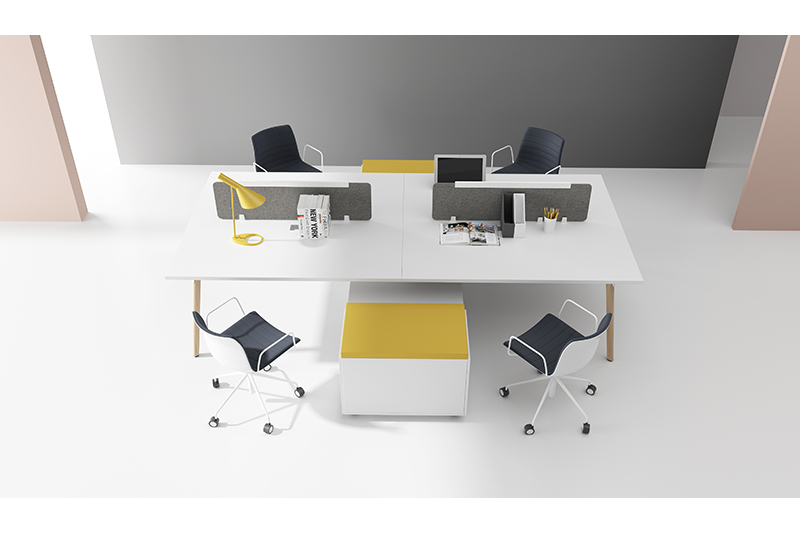 GOJO sit and stand office desks factory for office-1