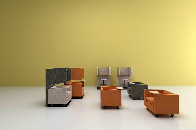 GOJO reception area chairs manufacturer for reception area-1
