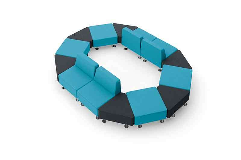 HIGH QUALITY MODULAR LOUNGE SOFA SET