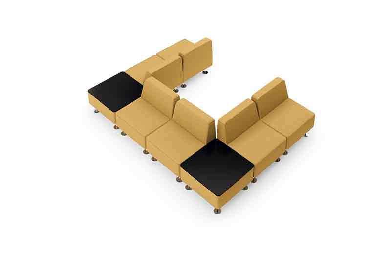 GOJO reception sofa factory for guest room