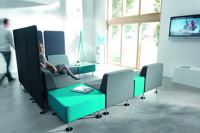 GOJO bulk waiting area sofa sofa for reception area-2