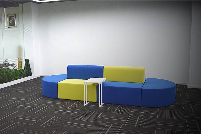 GOJO imsion sofa for office reception company for lounge area-1