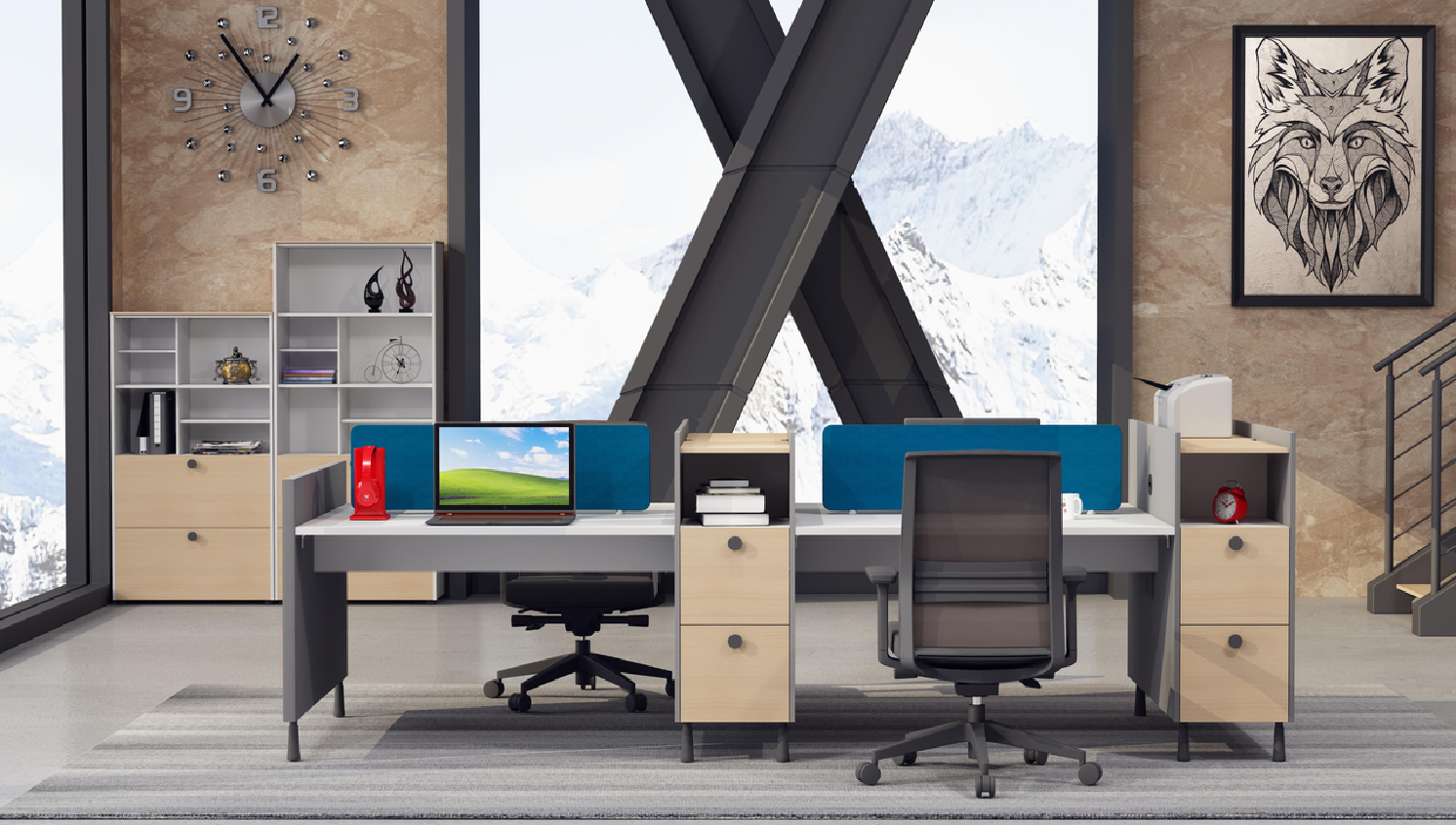 news-GOJO-How to Decorate Modern Office Efficiently-img