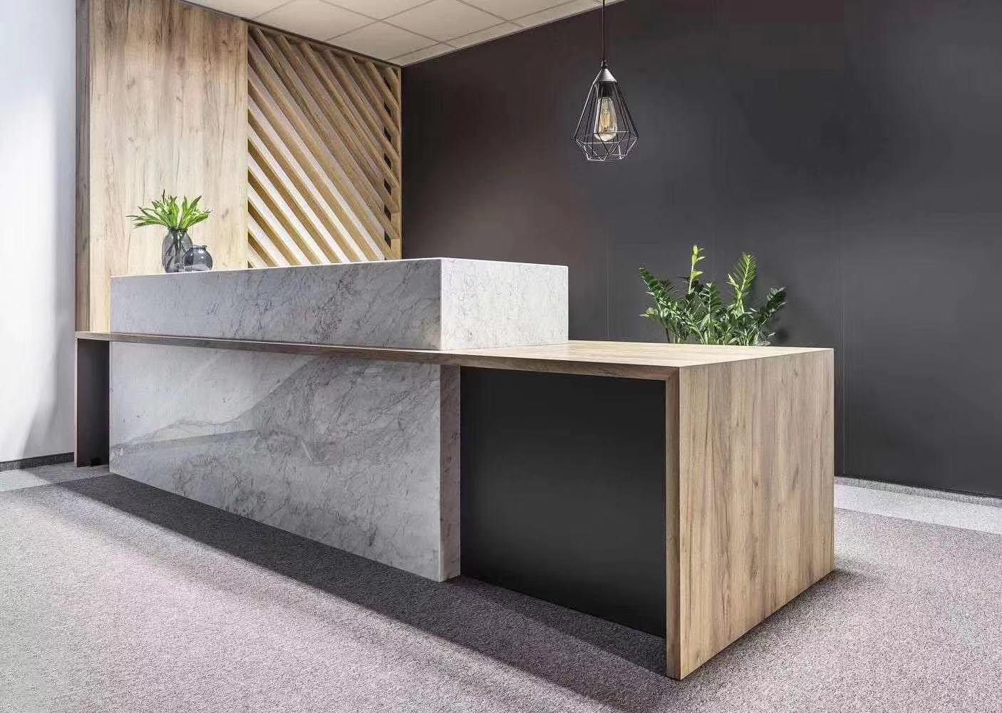 modern office front desk Supply for sale-1