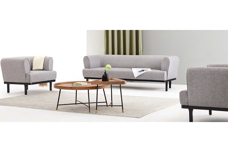 GOJO reche reception sofa set for business for lounge area