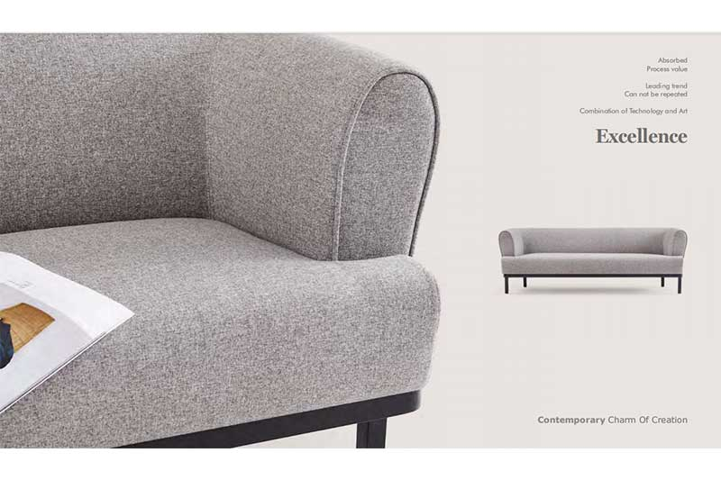 GOJO reche reception sofa set for business for lounge area-2