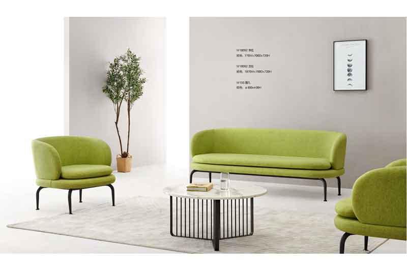 yuche reception area sofa Suppliers for lounge area-1
