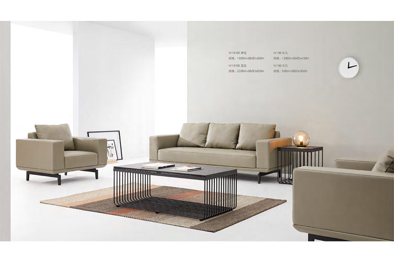 GOJO reception sofa chairs factory for guest room