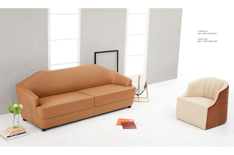 quiet salon waiting room furniture couch for guest room-1