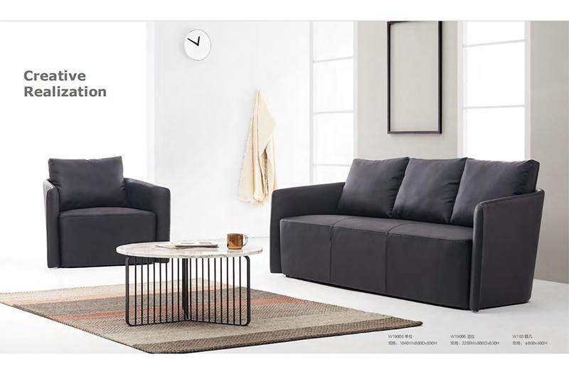 yuche reception area sofa company for lounge area