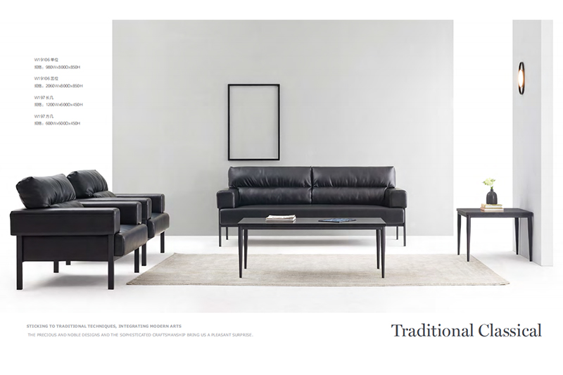GOJO couch set for sale manufacturer for reception area-1