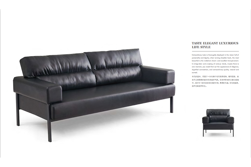 GOJO leather couch set company for guest room-2