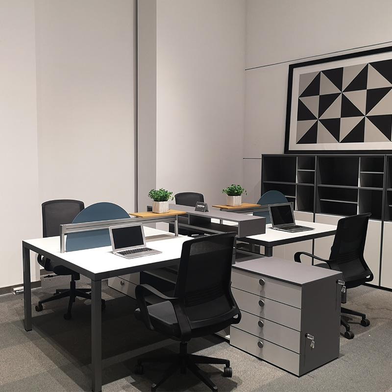 GOJO Custom long narrow office table company for clerk area-1