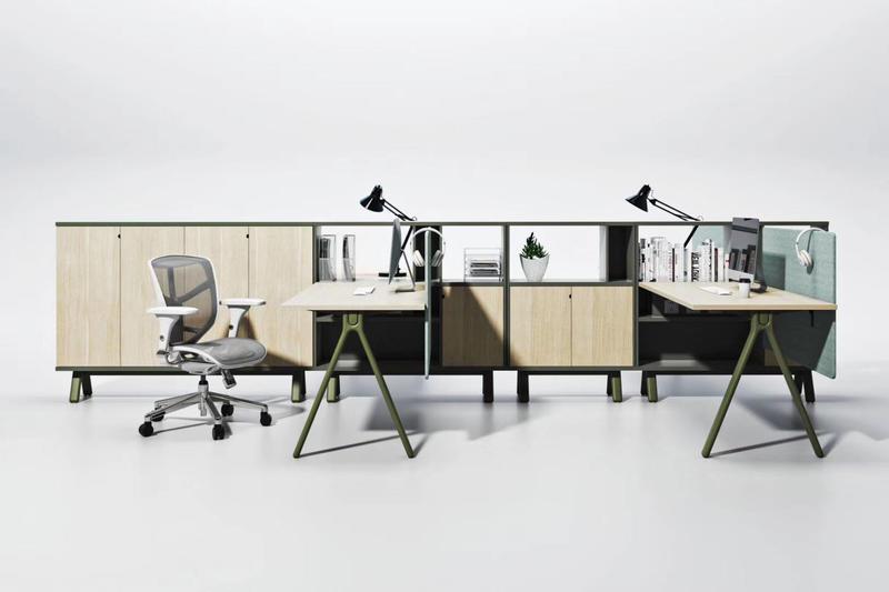 2020 Brand New Series GOJO Office Furniture Staff Desk