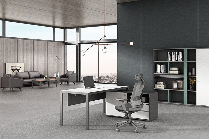 commercial long narrow office desk Supply for executive office-2