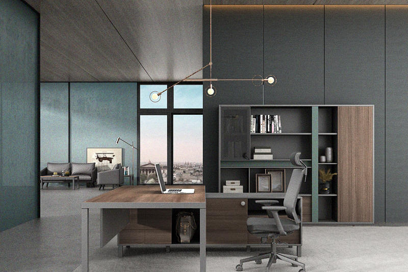 Executive Office File Cabinet Modern Office Storage Cabinet