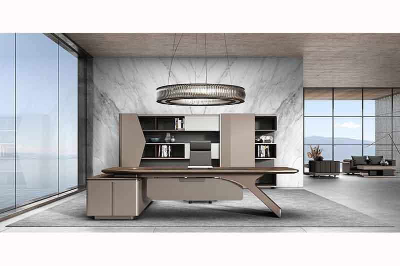 Custom Executive Office Desk Manager Office Table Imported Material Furniture