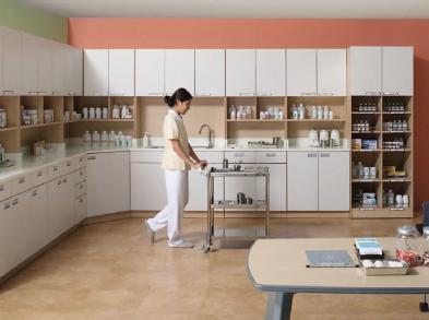 news-Hospital Furniture or Medical-care Furniture Demonstration-GOJO-img-1