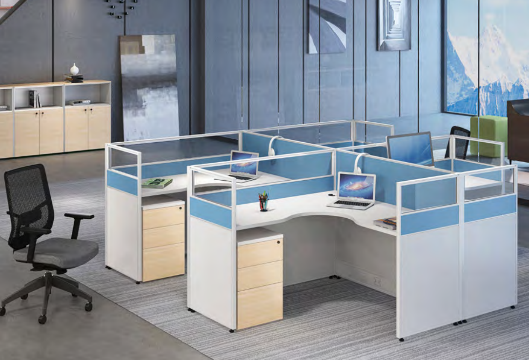 news-GOJO-Multi-color Partition Workstation Makes Your Office Lively-img-1