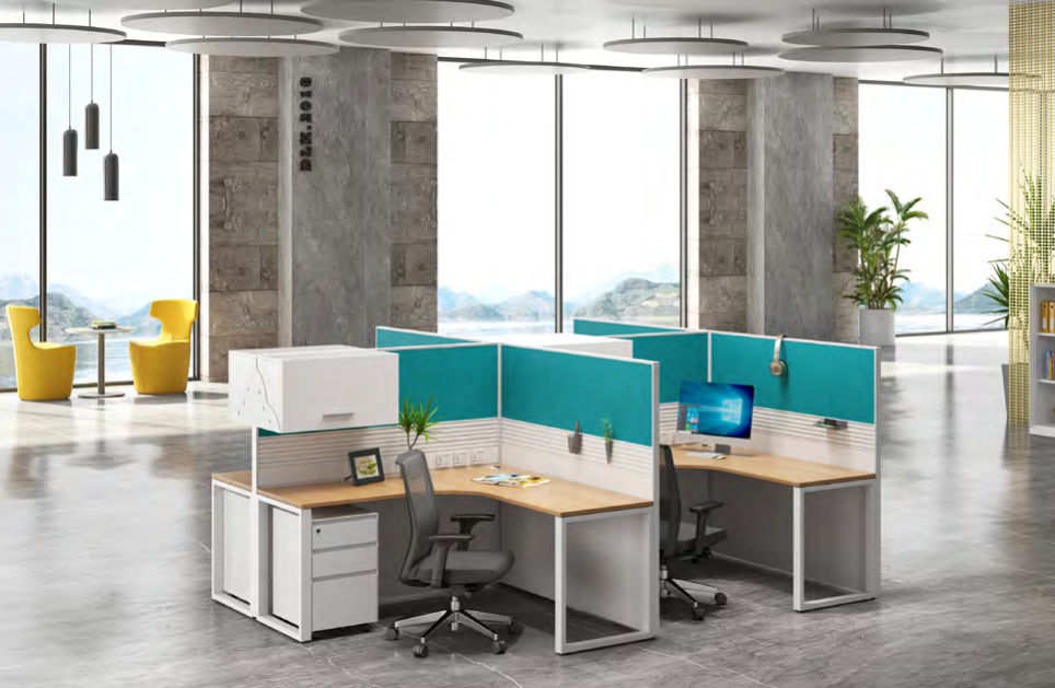 news-Multi-color Partition Workstation Makes Your Office Lively-GOJO-img-1