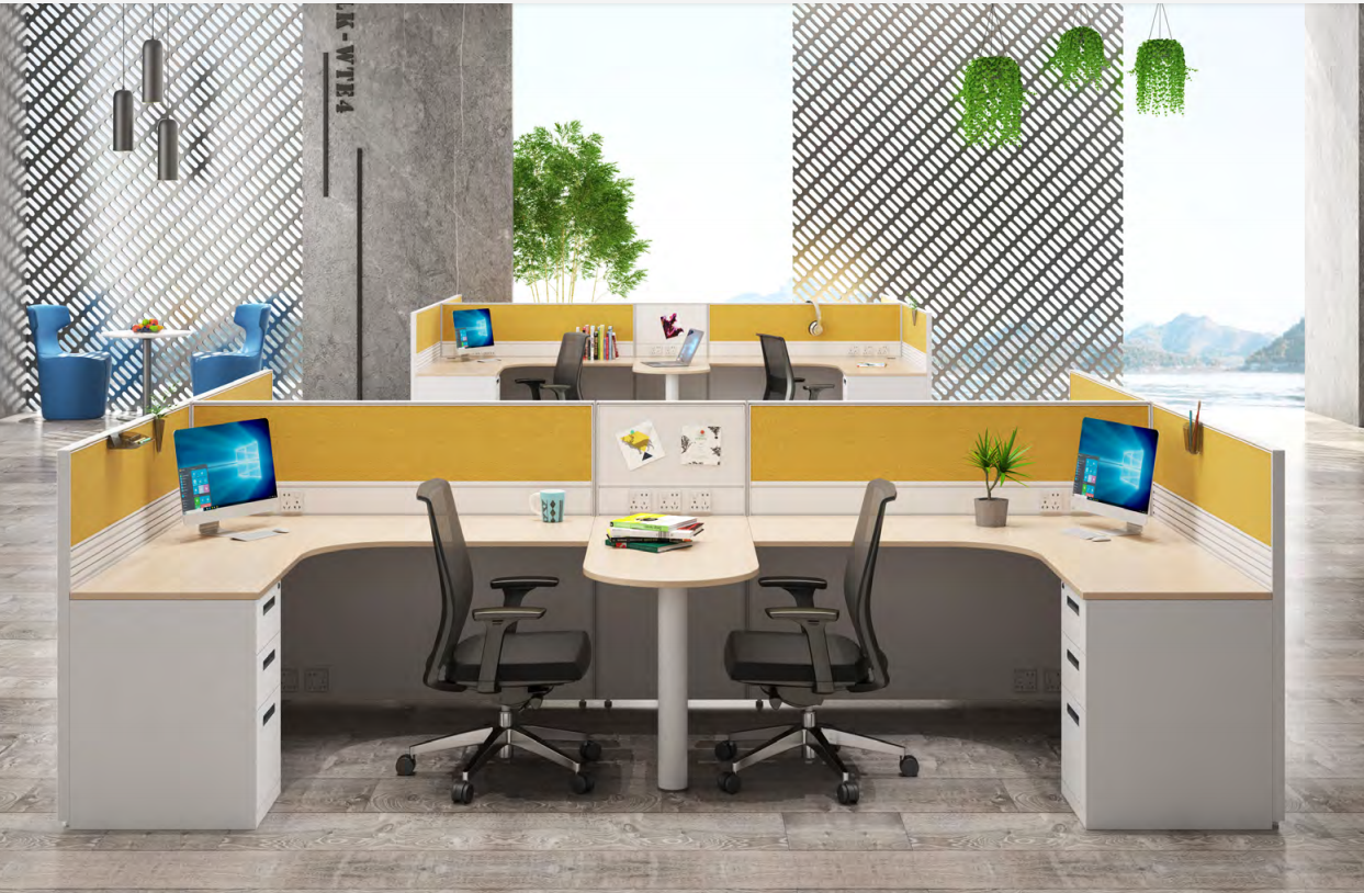 news-GOJO-Multi-color Partition Workstation Makes Your Office Lively-img-3