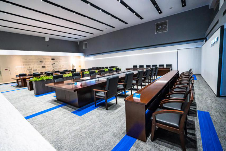 news-GOJO-Application of Traditional Solid wood Furniture in Public Institution's Office-img