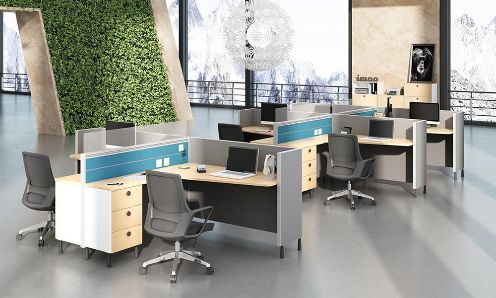Wholesale Open Modular Workstation Office Furniture II-Quiet Series