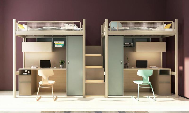 Student's Apartment/Flat Furniture II