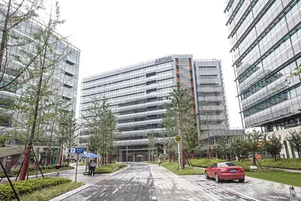 New office of AECOM in architectural design