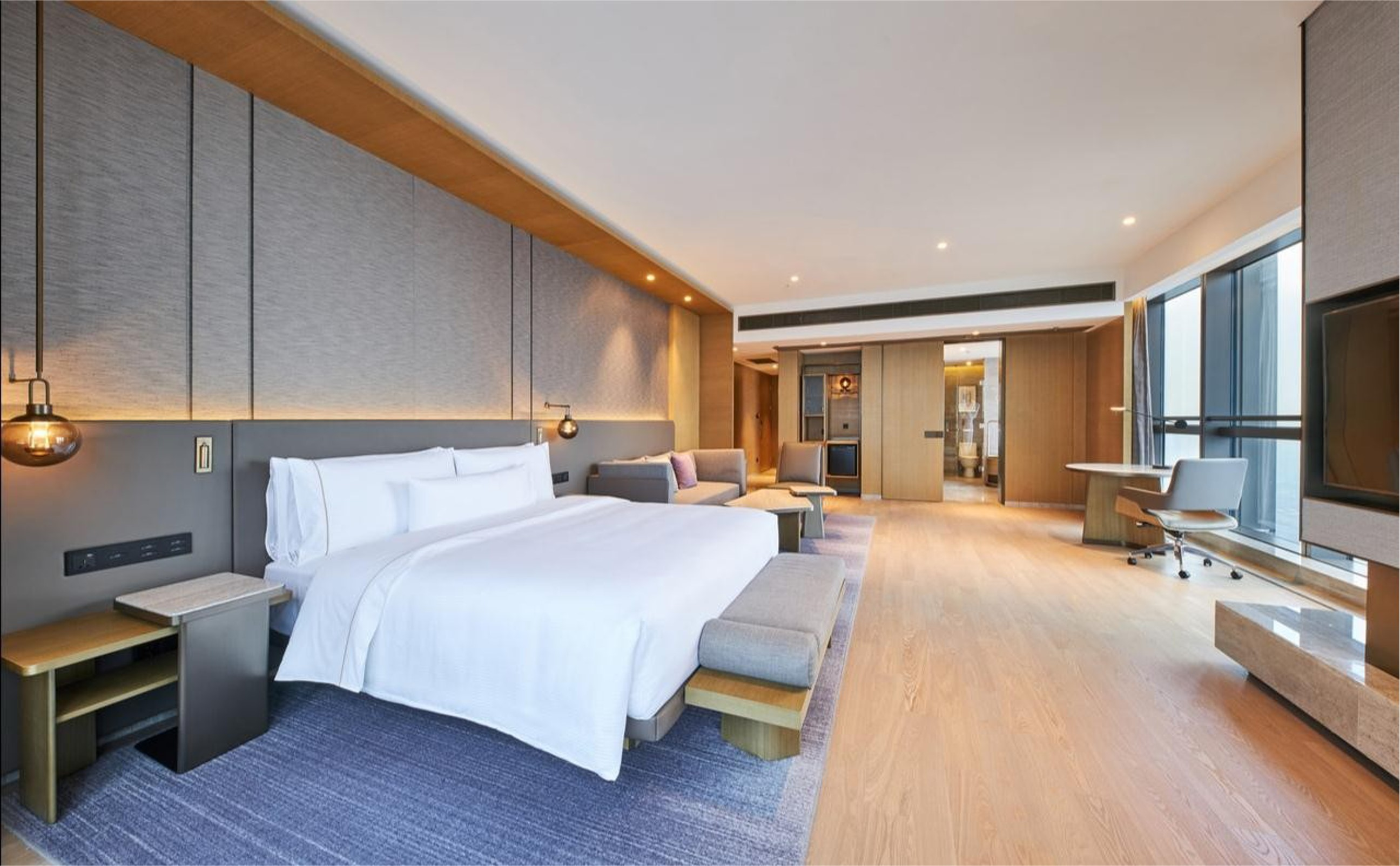 Gojo furniure Latest hotel luxury furniture manufacturers for lounge area-1