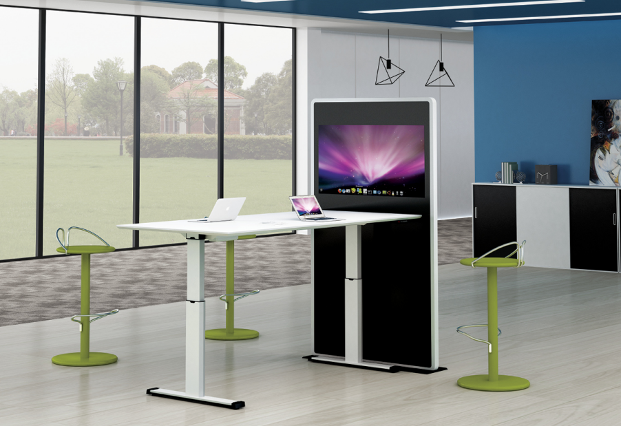 news-Gojo furniure-Long-hour Working Requires a Flexible and Height Adjustable Office Desk-img