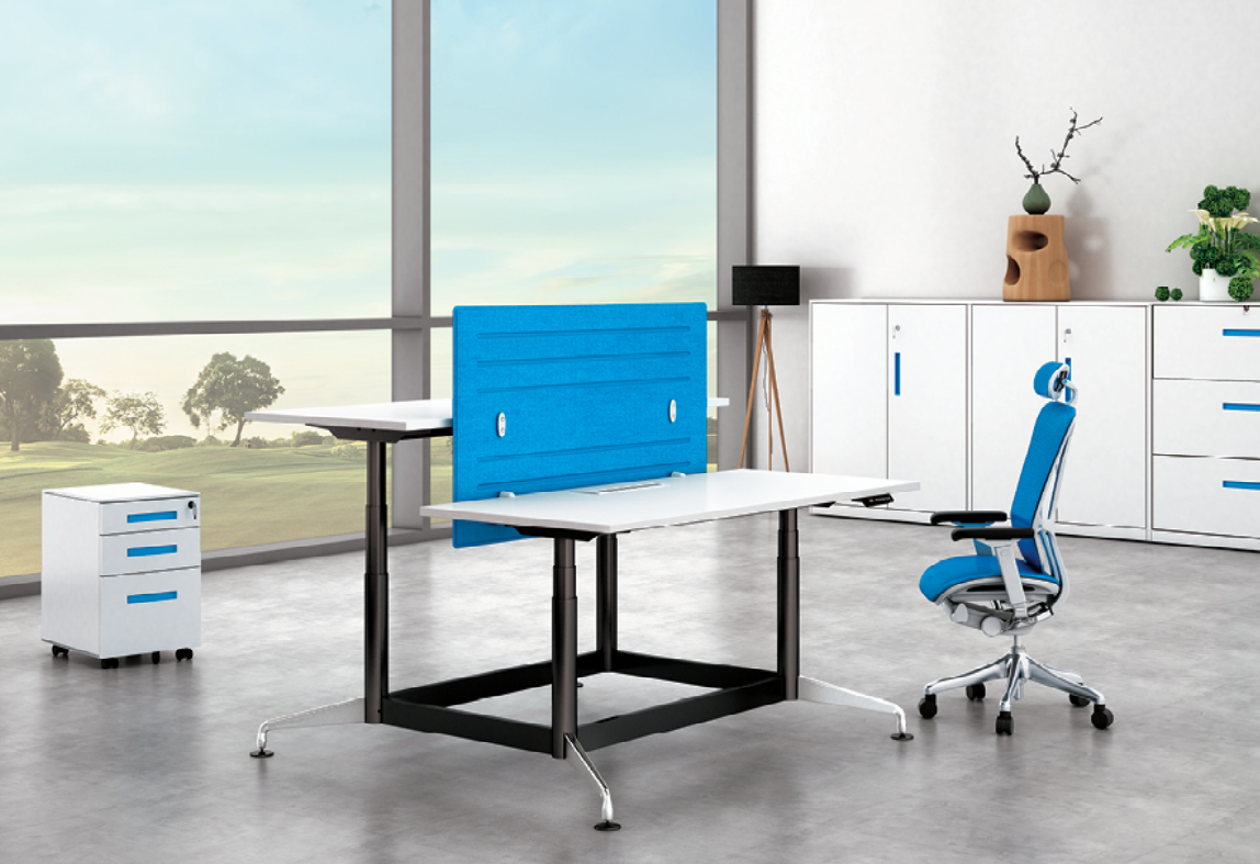 news-Long-hour Working Requires a Flexible and Height Adjustable Office Desk-Gojo furniure-img-1