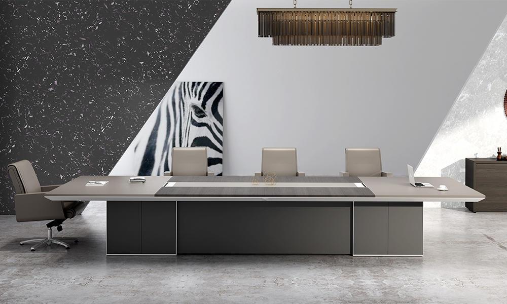 Modern Light Luxury Meeting Table-Lyu Series