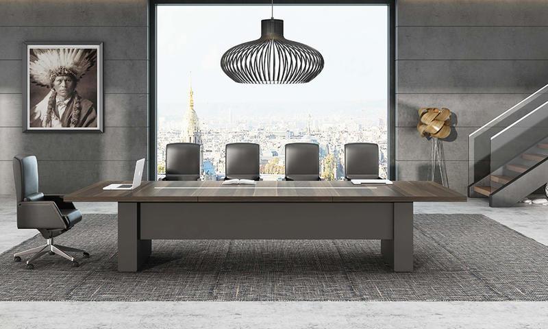 Dark Color Modern Meeting Table-Ruiz Series