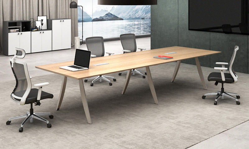 Light Color Fashionable Meeting Table-Cano Series