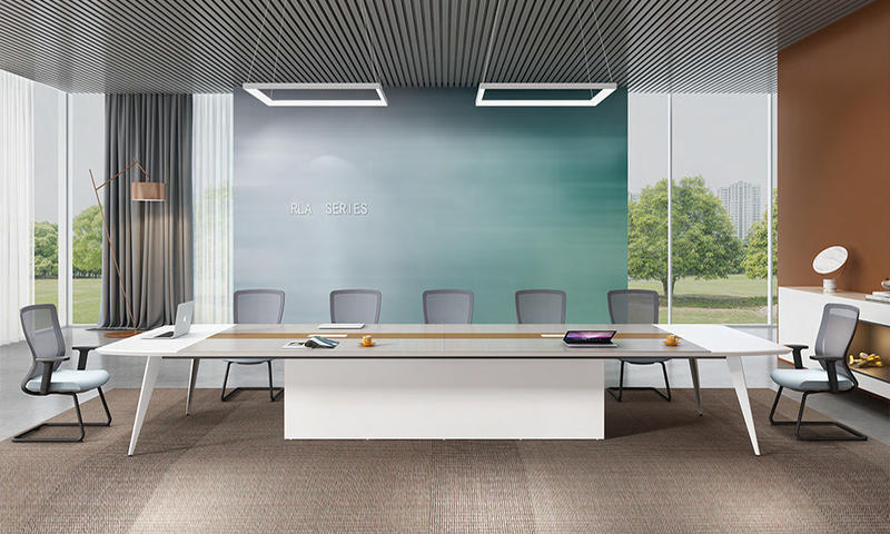 Office Conference Table Furniture Light Color Fashion-RLA Series