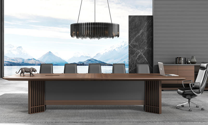 New Chinese Style Meeting Table-Guanhe Series