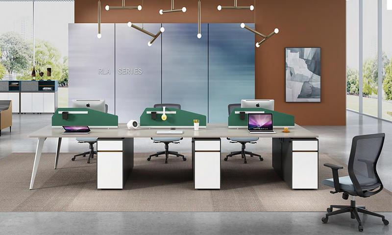 Light Color Fashionable Workstation- RLA Series