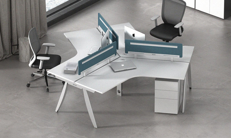 Three-seater Workstation- Cano Series