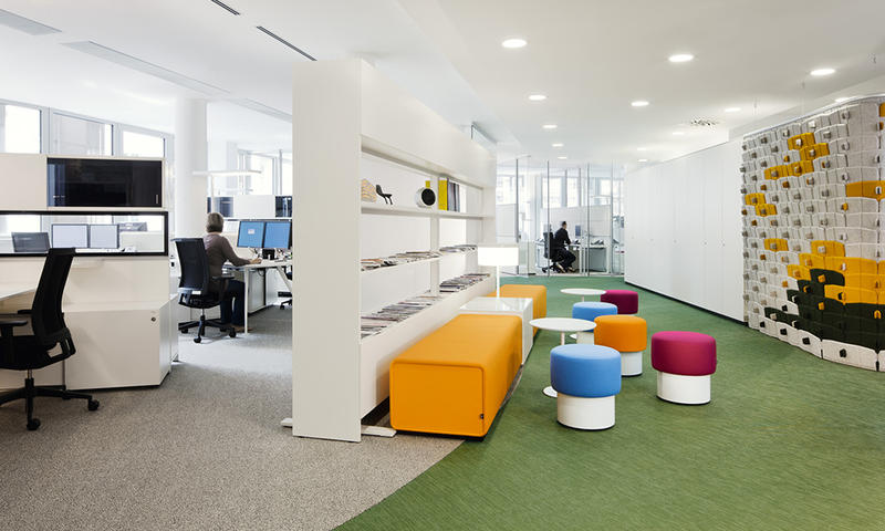 Simple Vast Office Space
