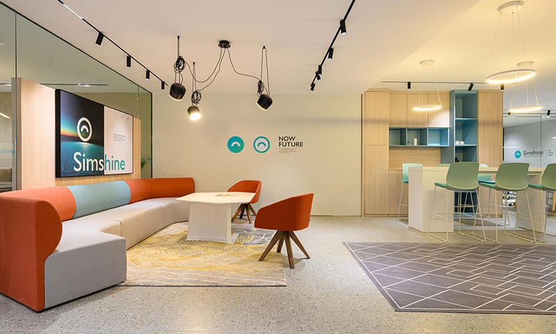 Spacious and Stylish Office Space