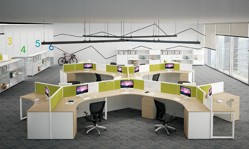 NEW OFFICE FURNITURE COLLECTION WORK STATION OFFICE DESK