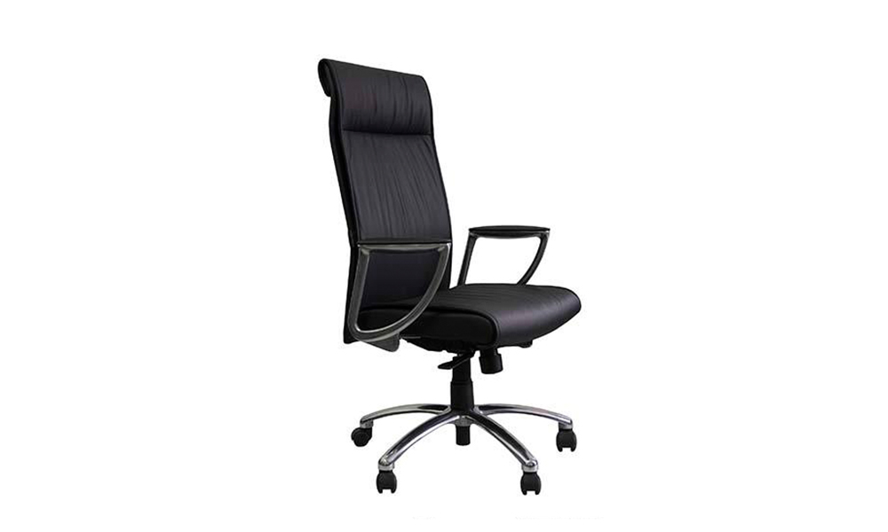 customized leather office chairs for sale lumbar for business for guest room-1