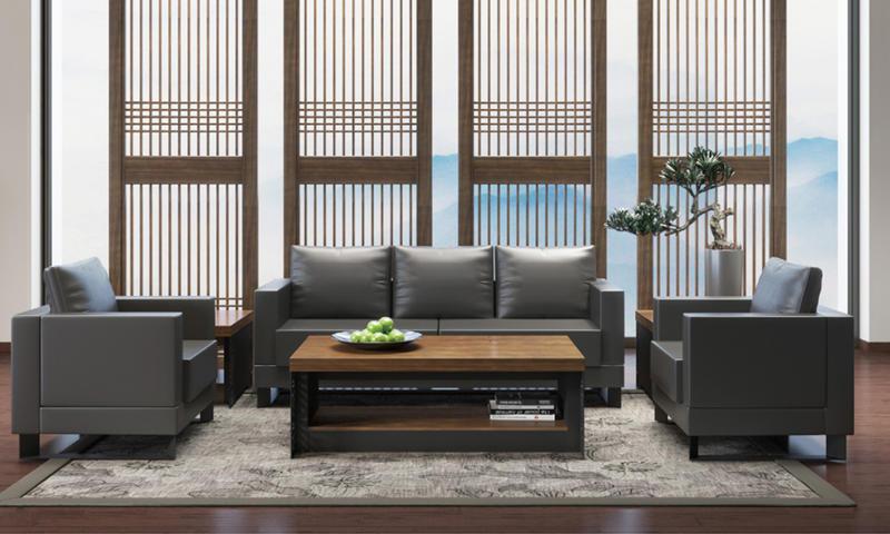 New Chinese Style Sofa-Yihe Series