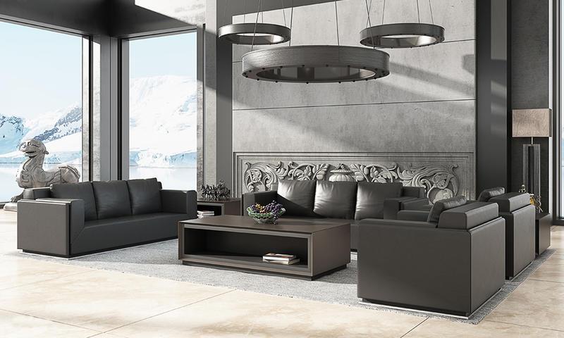 Dark Color High-end Sofa-YUCHE  Series