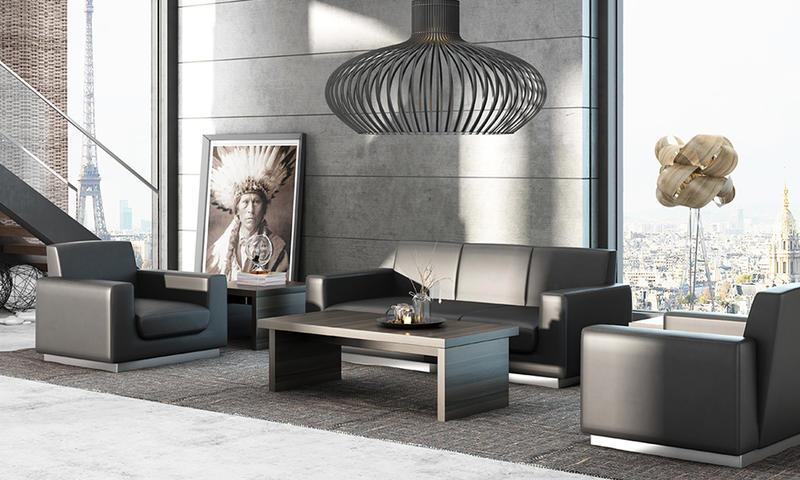 Dark Color Fashion Sofa-RECHE Series