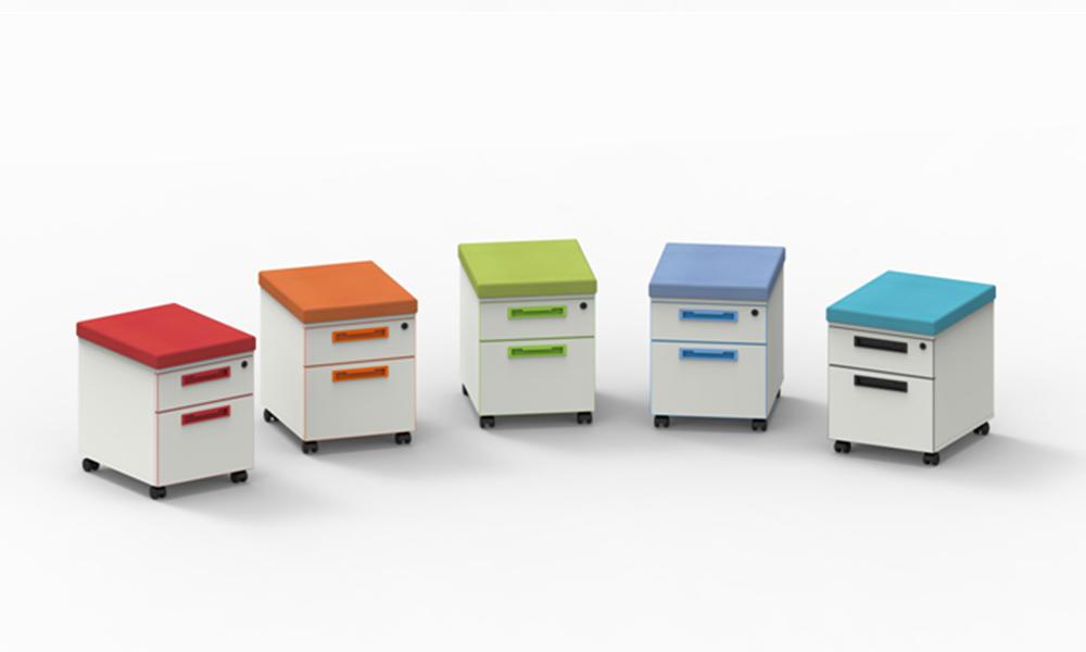 Color file cabinet-gojo office file