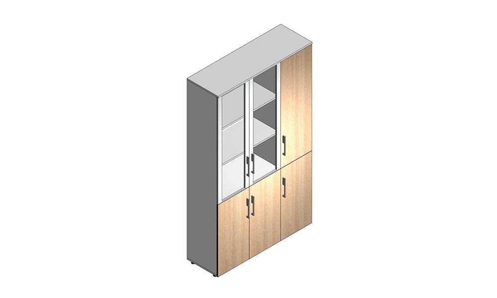 General wooden door file cabinet