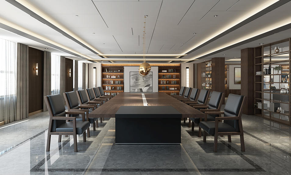 Customized Traditional Meeting Table