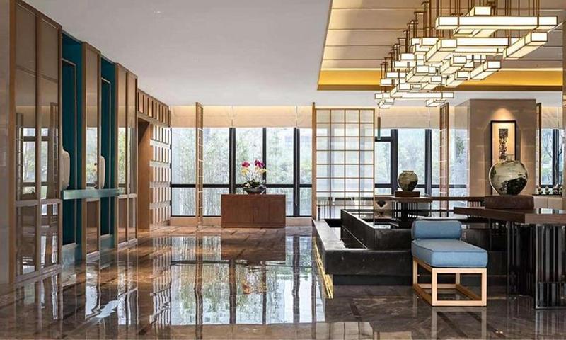 Hotel Public Area Fixed Furniture
